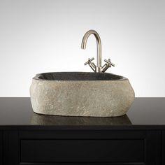Craskell Black River Stone Vessel Sink