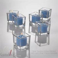 dark blue glass votivees - Bing images
