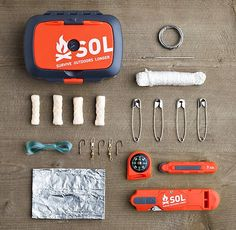 Sol Origin Survival Kit - (can make your own) always handy in the great wide open.