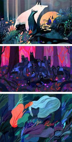 Juliette Oberndorfer illustration | concept art | fantasy illustration