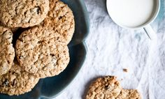 Kitchenette — Kořeněné ovesné sušenky s hrozinkami