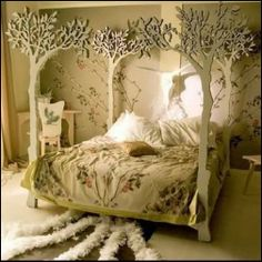 fairy decor | fairy woodland theme bedroom decorating ideas-fairty themed rooms