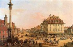 Bernardo Bellotto, also called Canaletto, was an Italian urban landscape painter of European cities (Dresden, Vienna, Turin and Warsaw) In 1768 he became court painter of Polish King in Warsaw where he remained for the rest of his life. He painted numerous views of the Polish capital.