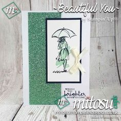 Handmade greeting card by jay soriano mitosu shop stampin up simple handmade card using beautiful you stamp set by stampin up for our card making craft group in basingstoke buy craft supplies from mitosu crafts uk m4hsunfo
