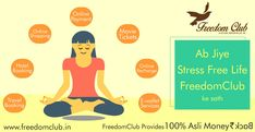 Make your #Life #Stress free with #FreedomClub. here you 100% asli moneyback on every #Shopping and other things... visit Now: http://www.freedomclub.in/ #Hotel #travel #booking #onlineshopping #onlinepayment #movie #tickets #recharge #Ewallet
