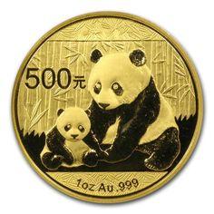 2012 1OZ CHINA PANDA .999 GOLD COIN. #LPM #LuciusPreciousMetals #Retailers #Gold #Bullion