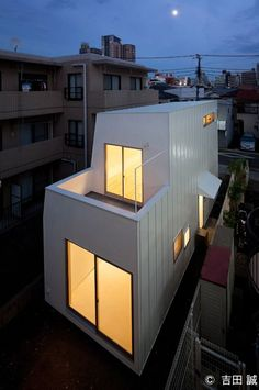House in Motoyawata is a minimal home located in Ichikawa, Japan, designed by NAYA Architects.