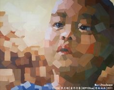 Artist:Li Yueling  Title:Childhood impression  Material:Oil on canvas   Size:100x80cm  Time:2011  Price  :$5000