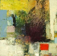 Don't Hang Back - Abstract Painting by Bob Hunt