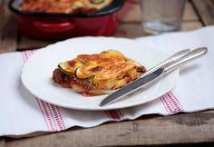 Cukkinimuszaka Nom Nom, French Toast, Bacon, Eggs, Vegetarian, Breakfast, Health, Food, Drink