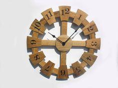 20'' wooden wall clock