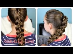 ▶ How to Create a Knotted Ponytail | Cute Hairstyles - YouTube