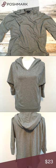 American Eagle Soft & Sexy Slouchy Hoodie Size L American Eagle Soft & Sexy Gray Slouchy Hoodie Size Large American Eagle Outfitters Tops Sweatshirts & Hoodies