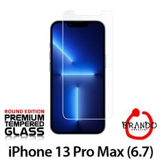 Brando Workshop Premium Tempered Glass Protector (Rounded Edition) (iPhone 13 Pro Max (6.7))