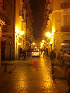 Calle Caballeros nel Valencia, Valencia