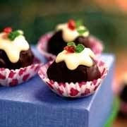 Chocolate Rum-ball Puddings - Yahoo!7 Food