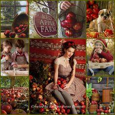 '' Red Apple Farm '' by Reyhan Seran Dursun
