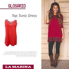 #Top #Tunic #Dress #Glosario #Fashion