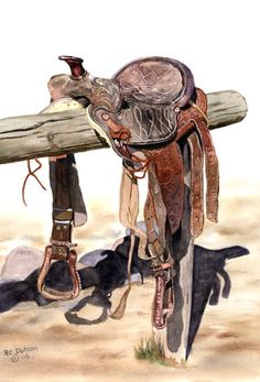 Western Art Paintings - R. Cowgirl And Horse, Cowboy Art, Westerns, West Art, Cow Girl, Western Theme, Le Far West, Mountain Man, Old West
