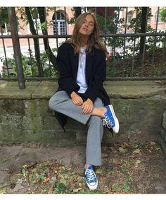 Fall 2018 and Winter fashion trends, outfits and the New Street Style Mode Outfits, Fashion Outfits, Womens Fashion, Fashion Trends, Looks Style, Style Me, Look Fashion, Winter Fashion, Mode Simple