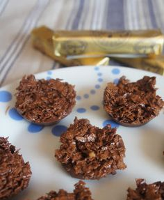 Petits chocolats aux crêpes dentelles