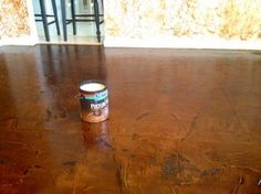 Brown Paper Flooring - Chicly Cheap Home Decor