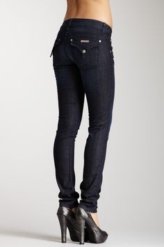 HUDSON  Collin Flap Skinny Jean- My favorite style from Hudson! I wear them all the time! Looking for a pair? www.liquidbluedenim.com