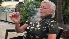 A grandma smoking weed for the first time Merry Jane, Out Of The Dark, Black Yoga, Women Smoking, Celine Dion, Smoking Weed, Just For Fun, Older Women