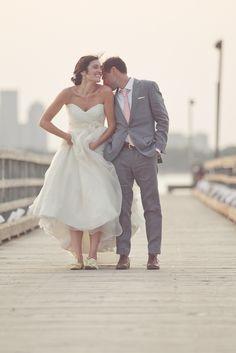 Beach wedding love
