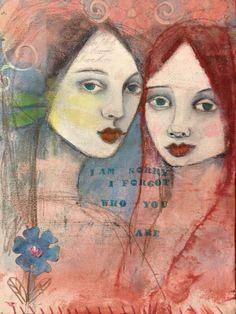 Art Journal Page by Suzi Blu @ http://suziblu.typepad.com/a_lovely_dream/2012/06/a-lovely-day-to-art-journal.html