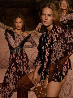 Anna Ewers stars in Isabel Marant's fall-winter 2017 campaign