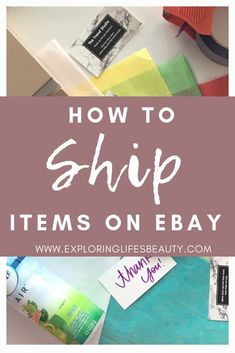 How to Ship Items on eBay | Find out how to ship items on eBay + the cheapest way to ship out! Poshmark Shipping Tips / Etsy Shipping Tips / Learn more eBay Selling tips at www.exploringlifesbeauty.com like how to ship items on eBay, how to start selling on eBay, how to organize your eBay inventory, brands that sell on eBay, plus where to shop to resell, how much to invest in resell items, and so much more! Ebay Selling Tips, Ebay Tips, Selling Online, What To Sell, How To Make Money, Making Money On Ebay, Etsy Shipping, Selling On Poshmark, Sell On Etsy