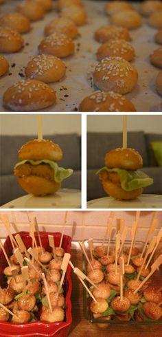 C'est l'heure du mini-burger