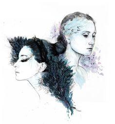 'Swanlake' by Inna Heller