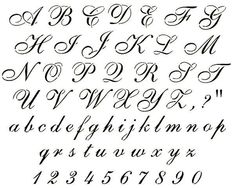 Cursive Letter J Tattoo - Bing Images 00 or perhaps in wire for jewelry? Cursive Letters Font, Tattoo Fonts Cursive, Hand Lettering Alphabet, Calligraphy Handwriting, Script Lettering, Lettering Design, Fancy Fonts Alphabet, Cursive Alphabet Chart, Letter J Tattoo