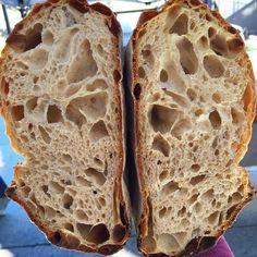 RECEITA DO PÃO DA FAZENDA COM LEVAIN por Miguel Winge O pão da fazenda é tão simples e complexo como ele é. Ingredientes mínimos, mas um método que pode ser melhorado e refinado durante toda a vida…