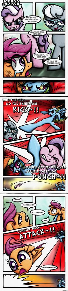 [Comic] Fight to the Finish by Rambopvp.deviantart.com on @deviantART