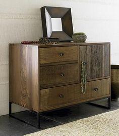 Atwood Chest, Crate and Barrel. Another view. Gorgeous.
