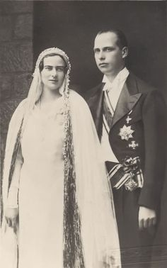 Ileana di Romania e arciduca Anton d'Asburgo-Toscana