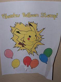 The Creative Party Mom: Pokemon Party (Adam's 9th Birthday)