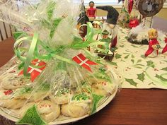 Danish Christmas Traditions from the Be Betsy blog, with recipes in English for jødekager, pebernødder, romkugler, and vaniljekranse.