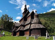 Igreja de madeira Borgund