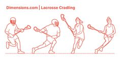 Lacrosse Cradling refers to maintaining ball possession in a lacrosse game while moving with the lacrosse stick without the ball falling. The players are protecting and handling the ball while moving around the field. To effectively master this skill, you must grasp how to duck, check, escape hitting, shooting, and passing. Downloads online #sports #lacrosse