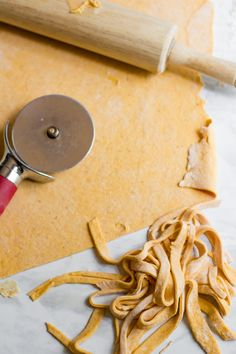 Two-Ingredient Pumpkin Pasta