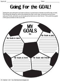 Goal Setting Craftivity | Goal settings, Goal and Students