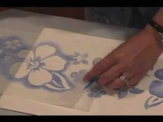 How To Stencil with Paint