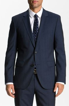 Russell Slim Fit Suit Charcoal - Ron Bennett | Men suits - TV ...