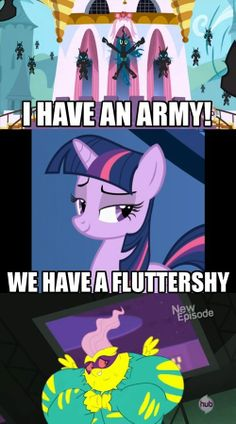 A Fluttershy can destroy anything. My Little Pony Comic, My Little Pony Drawing, My Little Pony Pictures, Mlp Comics, Funny Comics, Mlp Funny Memes, Little Poni, Mlp Fan Art, Imagenes My Little Pony