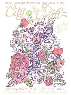 indie art, craft & market posters