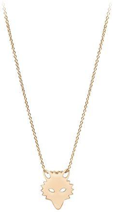 Ginette_ny Mini Wolf Necklace